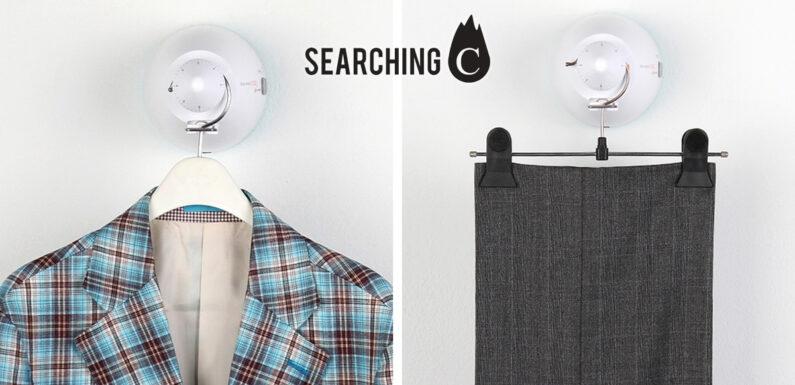 【驚喜價】$568.1購買韓國Rundry白色3合1 衣物 護理器(原價:$798)