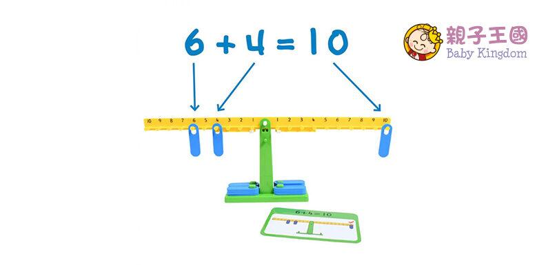 【驚喜價】$128購買Math Balance Activity 天秤數學平衡 遊戲 (原價:$188)