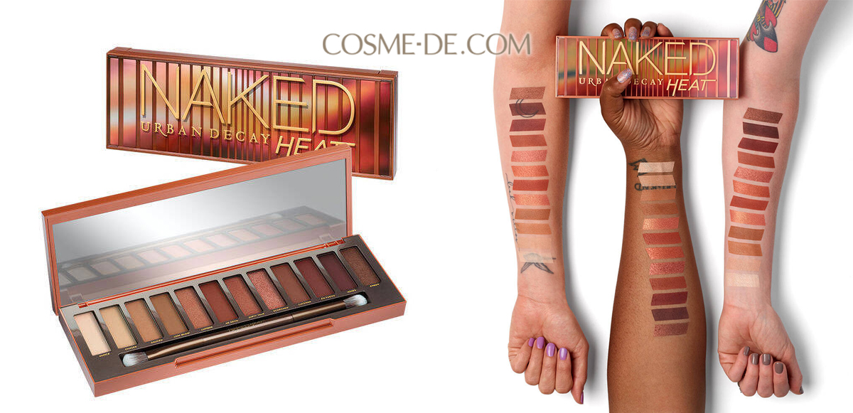 【COSME-DE】Urban Decay Naked Heat 眼影 組合 特價$371(原價$500)