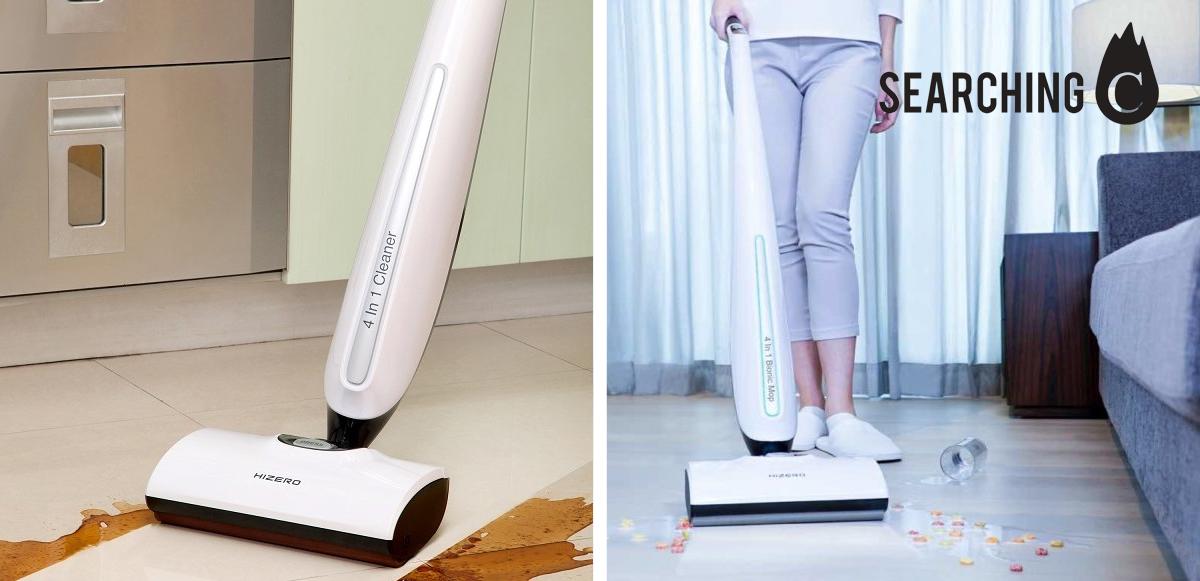 【早鳥價】$4,256購買HIZERO F801革命性 4合1家用 地板清潔 機(原價:$4,980)