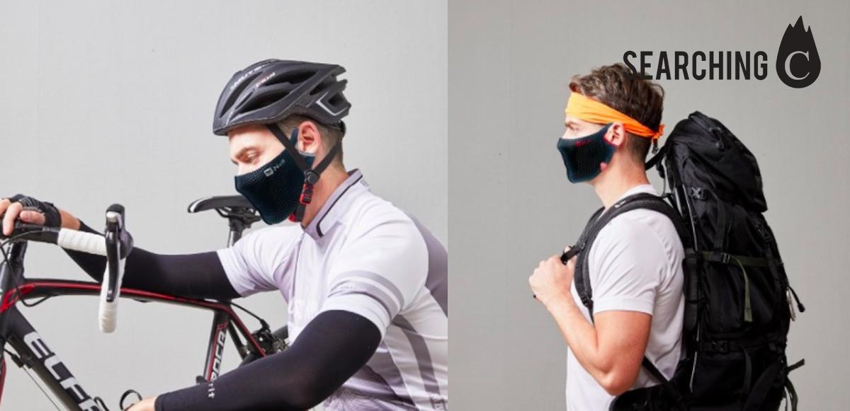 【驚喜價】$188.1購買韓國N-rit 運動 專用快乾透氣面罩(原價:$298)