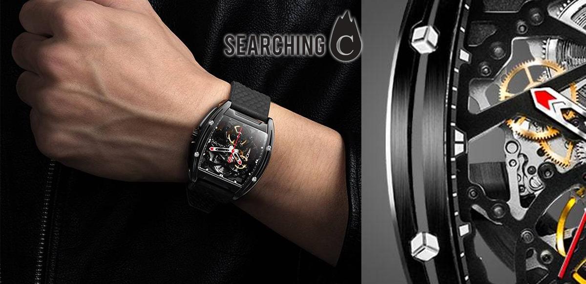 【驚喜價】購買CIGAdesign DLC水晶通透自動 手錶 黑魂版(原價:$2,200)