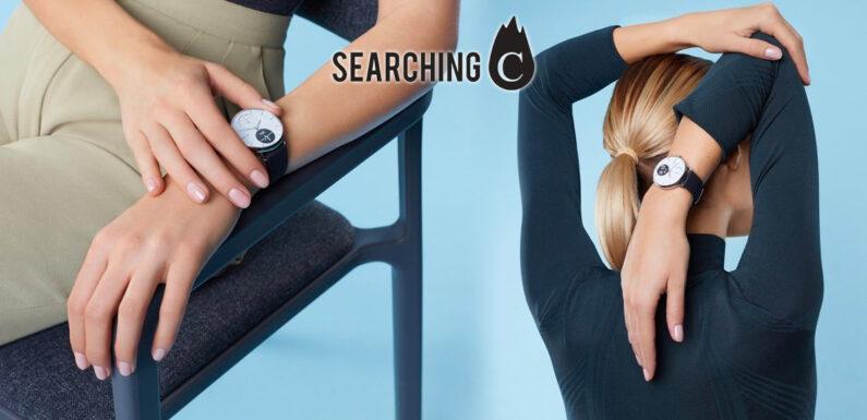 【早鳥優惠價】購買法國Withings Scanwatch文青系智能 手錶 (原價:$2,298起)