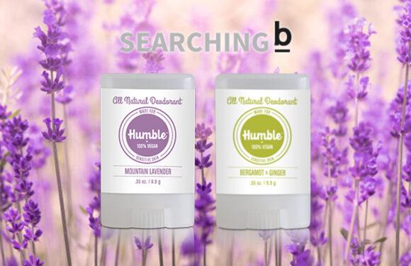 【Searching B】Humble純素溫和天然 止汗 香體膏套裝