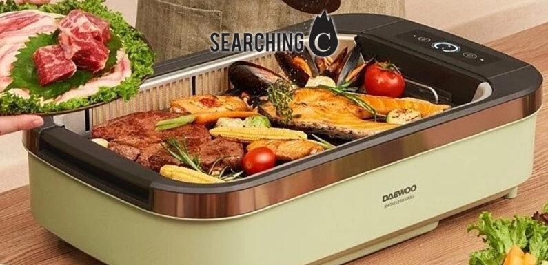 【驚喜價】購買DAEWOO韓式多功能無煙 烤肉 機(原價:$1,488)