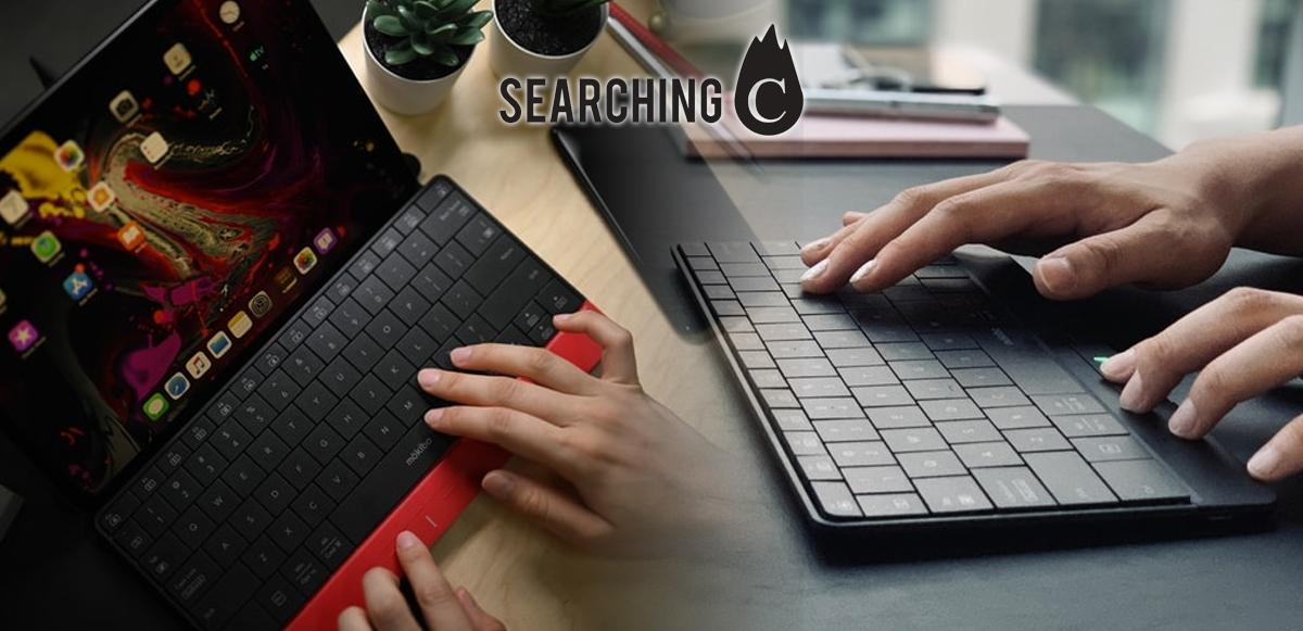 【驚喜價】購買韓國 Mokibo首創2合1觸控版連無線 鍵盤 (原價:$1,099)