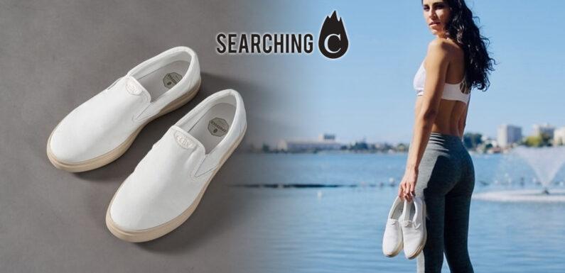【驚喜價】購買XpreSole 首創咖啡 防水 休閒鞋 – 奶泡白(原價:$699)