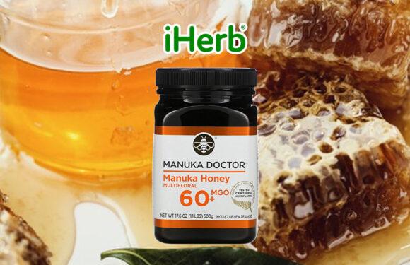 【iHerb】 Manuka Doctor, Manuka Honey Multifloral, MGO 60+