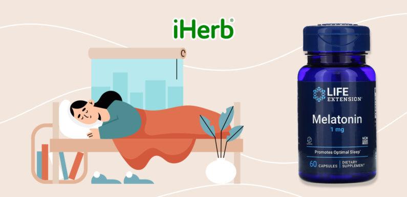 【iHerb】Life Extension, 褪黑荷爾蒙 ,1 毫克,60 粒膠囊