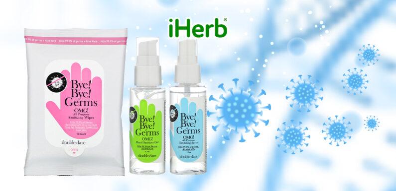 【iHerb】Double Dare, 消毒 必備套裝,3 件套