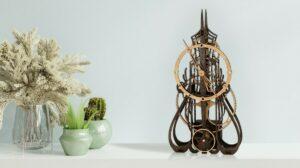 烏克蘭 3D 手作 DIY 木製時鐘 MadClockMaker (7月20日寄出)