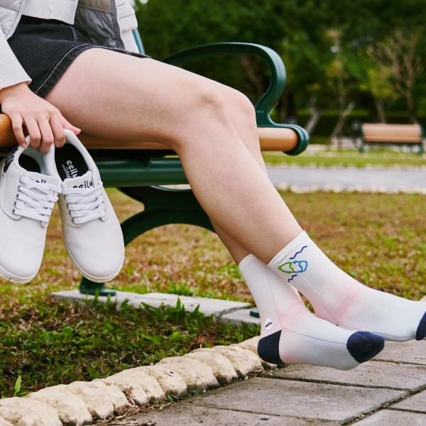 *早鳥集購* GreenPlax 全球首創寶特除臭襪 (一組3對) 通過設計 Ccilu HK$299.00 HK$199.00