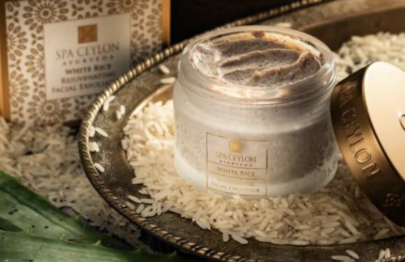 White Rice – Rejuvenating Facial Exfoliator 天然純米糠 – 賦活煥采面部去角質磨砂膏