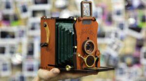 Jollylook Auto 懷舊摺疊式即影即有相機 (9月6日寄出)